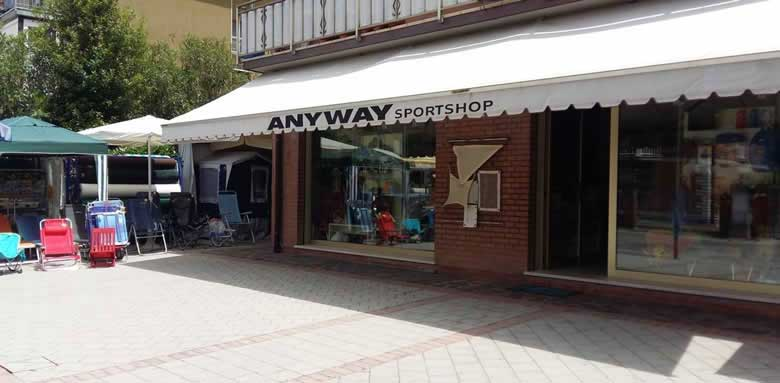 Anyway sport shop negozio