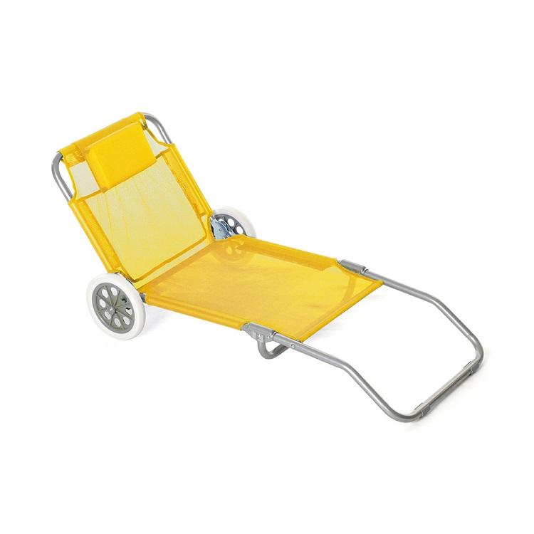 Spiaggina Sdraio Con Ruote.Spiaggina Trolley Con Ruote Anyway Sport Shop